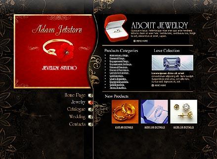 Jewelry Studio Website Design