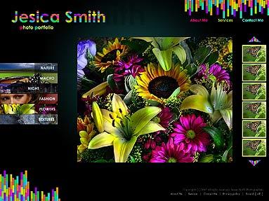 Photographers folio Website Design