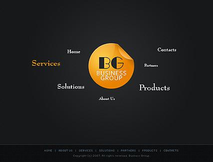 Business group Website Design