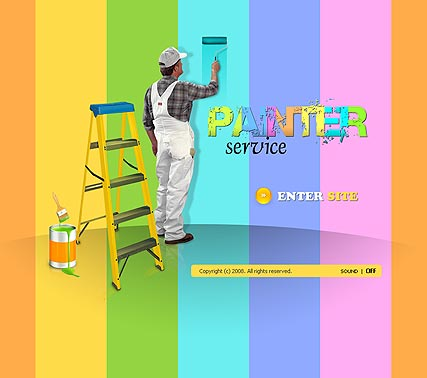 House painter Website Design