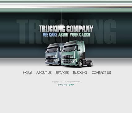 Trucking co. Website Design