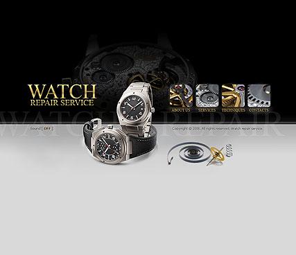 Watch repair Website Design