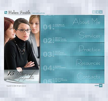 Privat lawyer Website Design