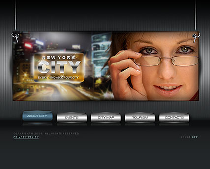 City portal Website Design