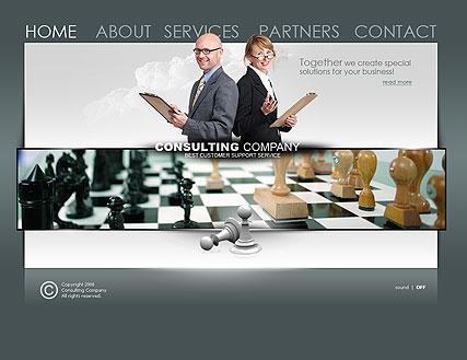 Consulting co. Website Design