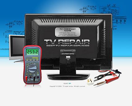TV Repair Website Design