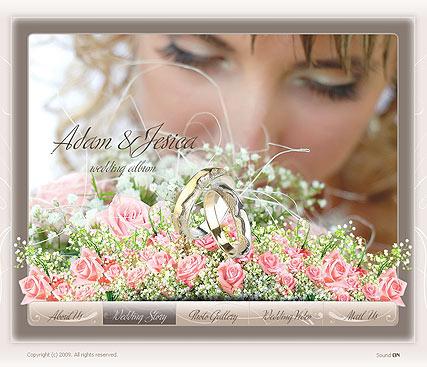 Wedding video Website Design
