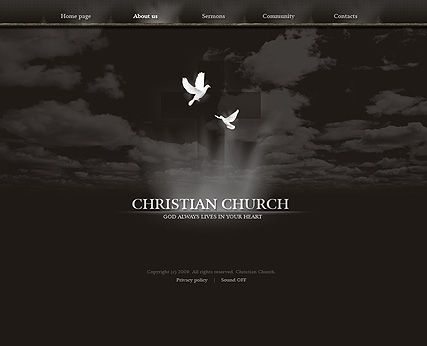 Christian church Website Design