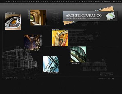 Architectural co. Website Design