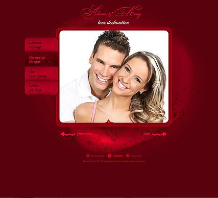 My love Website Design