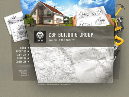 Building group Website Design