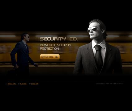 Security co. Website Design