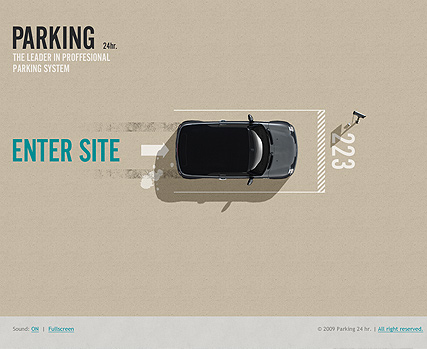 Parking 24h. Website Design