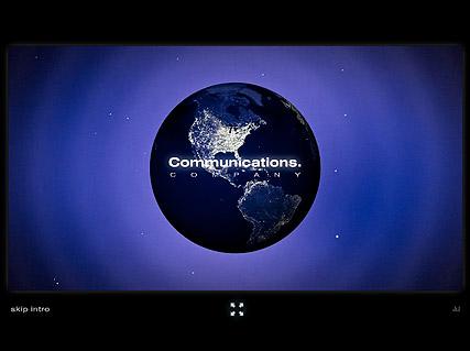 Communication Co. Website Design