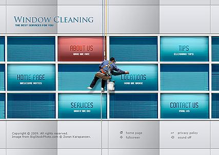 Window Cleaning Website Design