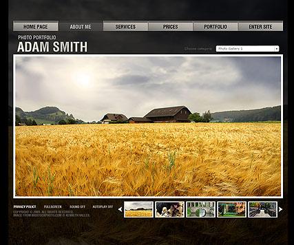 Photo folio Website Design