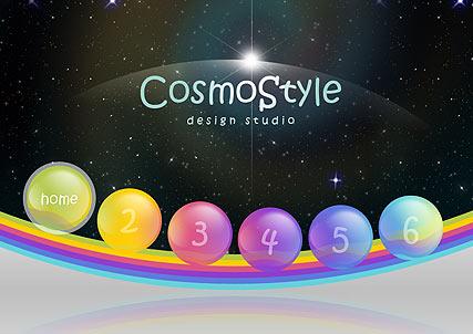 Cosmo Design Website Design