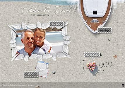 Love Story Website Design