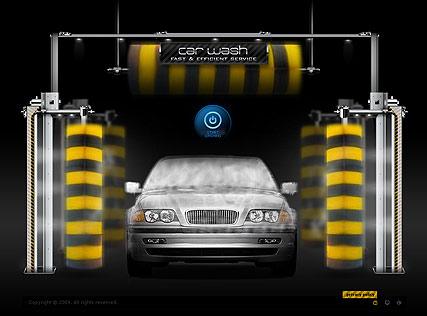 Car Wash Website Design