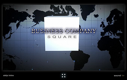 Business Square Website Design
