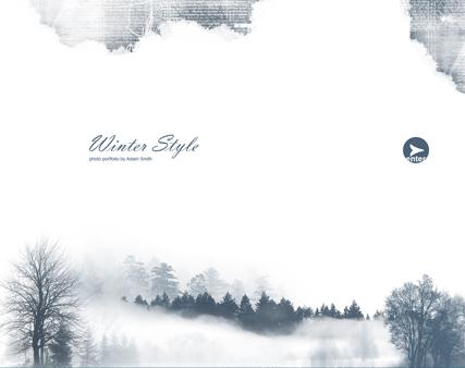 Winter Style Website Design