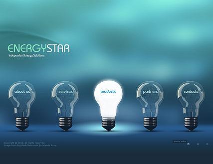 Energy Company Website Design