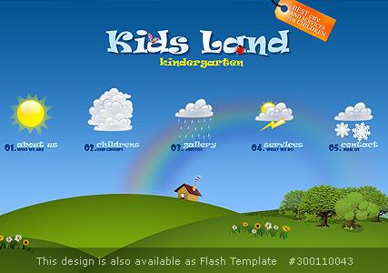 Kindergarten Website Design