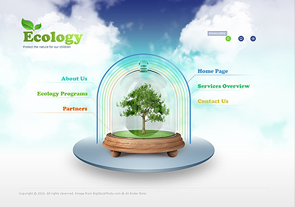 Ecology Protection Website Design