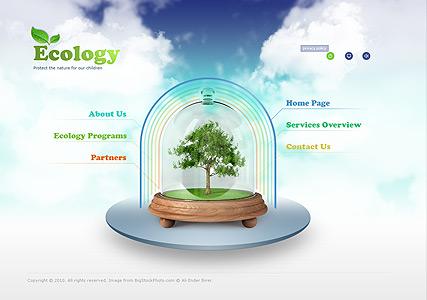 Ecology Protection Website Design