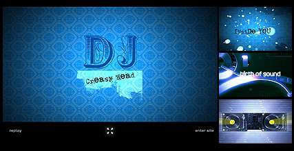 DJ Website Design