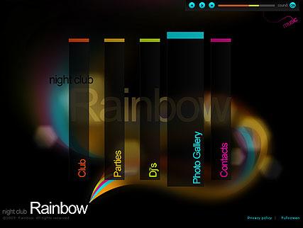 Nigh Club Website Design