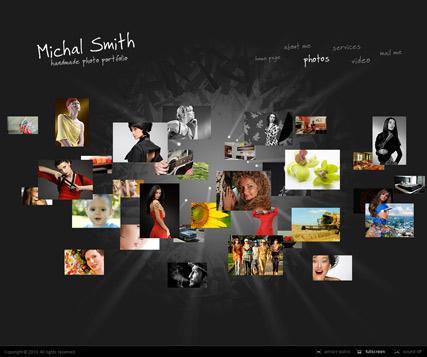 Amazing Gallery Website Design