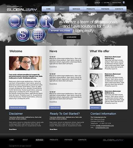 Global Way Website Design