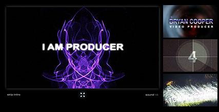 Video Producer Website Design