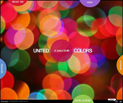 United colors Website Design