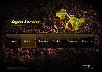 Agro Service Website Design