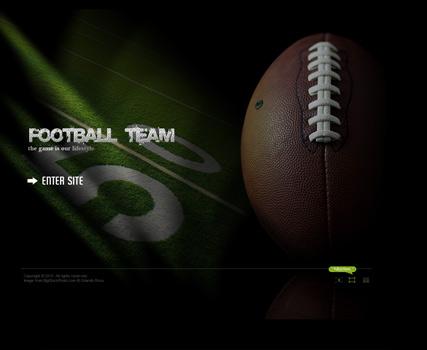 USA Football Website Design