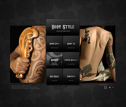 Body style Website Design