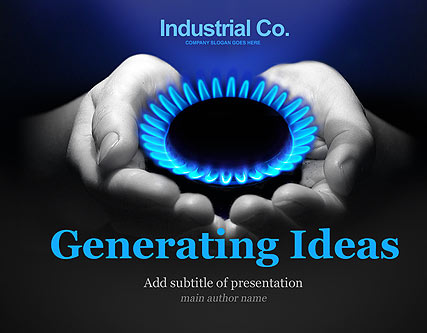Gas Company Website Design