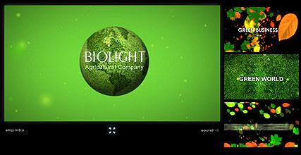 Biolight Website Design