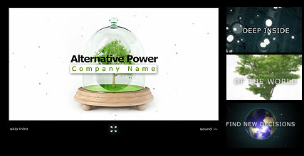 Alternative Power Website Design