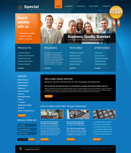 Special Solutions Website Design