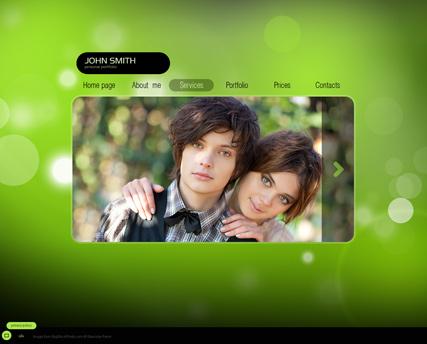 My Photos Website Design