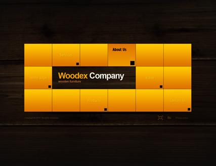 WOODEX co. Website Design