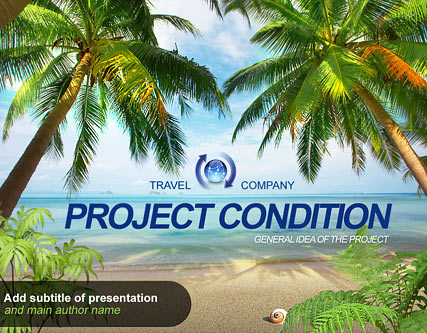 Travel Project Website Design
