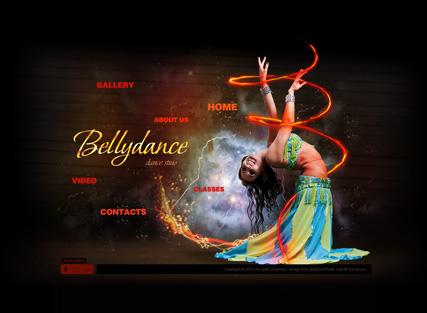 Bellydance Website Design