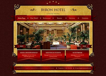 Royal Hotel Website Design