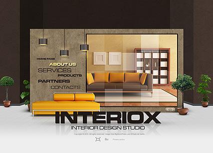 Interiox Website Design