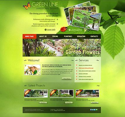 Landscape Design Website Design