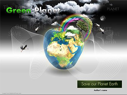 Green Planet Website Design